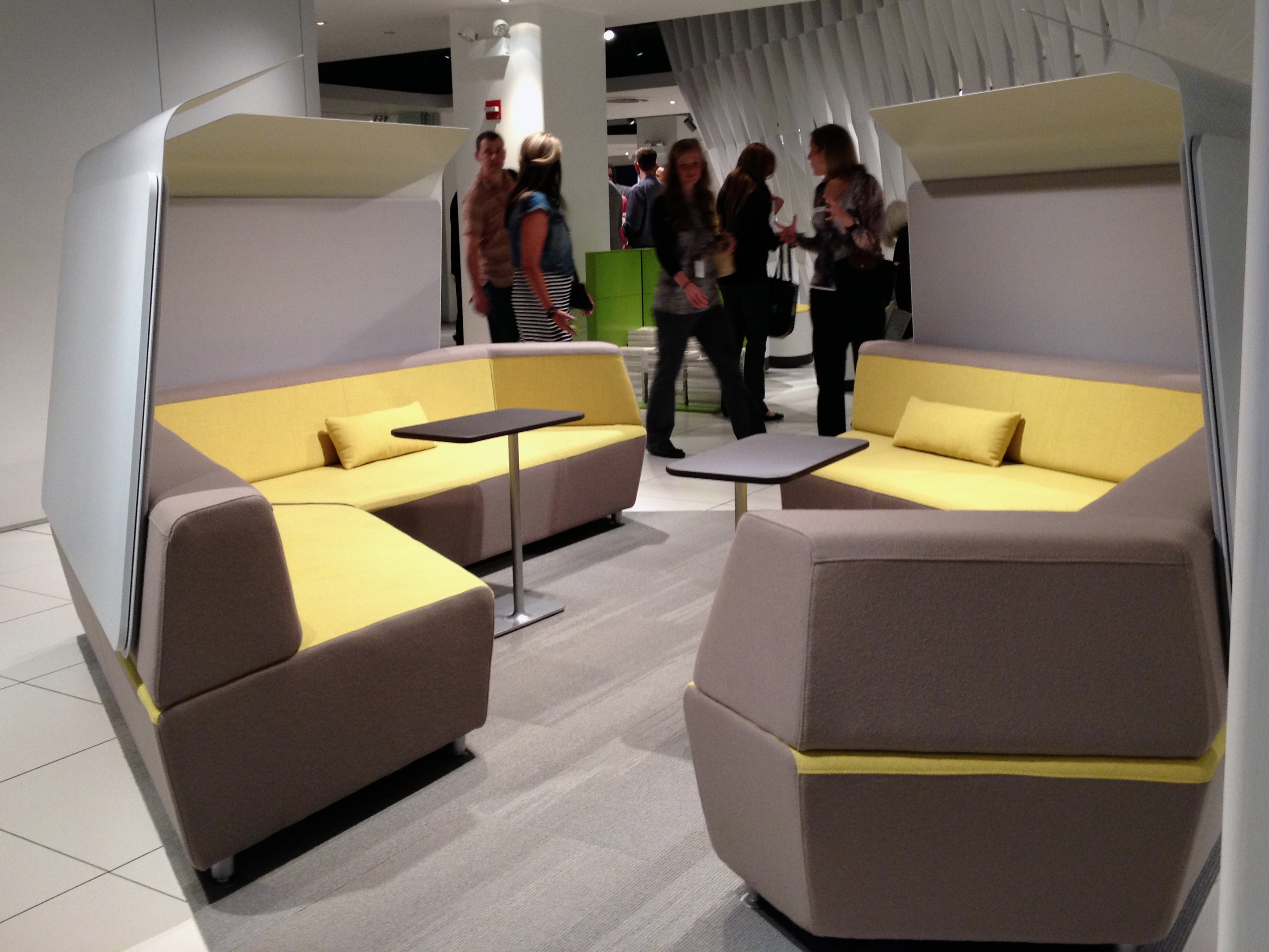 Steelcase Office Couch